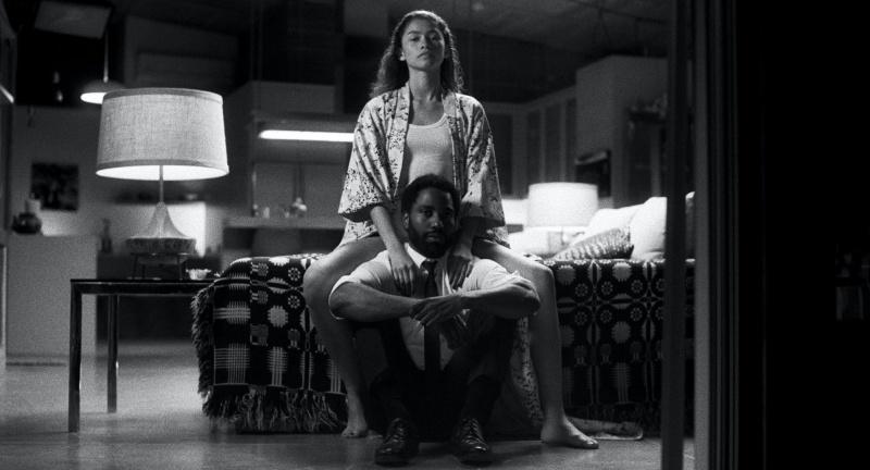 """Kadr z filmu """"Malcolm i Marie"""" (źródło: materiały prasowe)"""