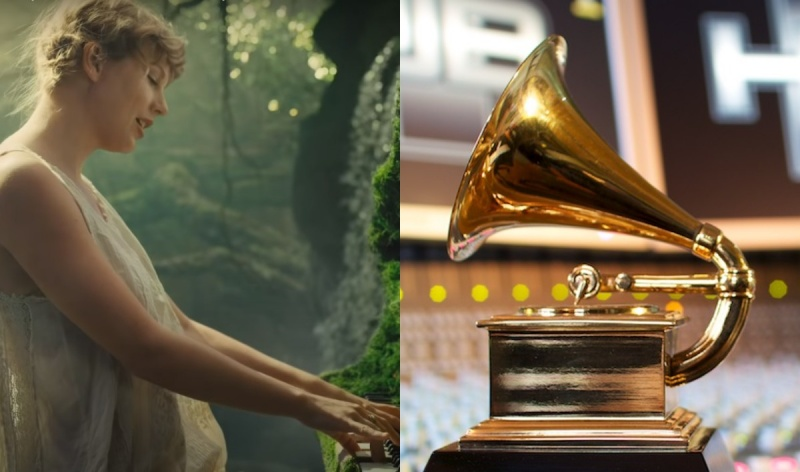 Taylor Swift (youtube.com);Nagroda Grammy (fot. James Munson/flickr.com/photos/jimillpicit)