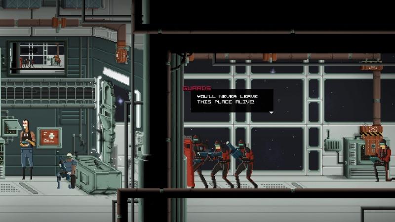 """Screen z gry """"Gods Will Be Watching"""" (źródło: rozgrywka własna)"""