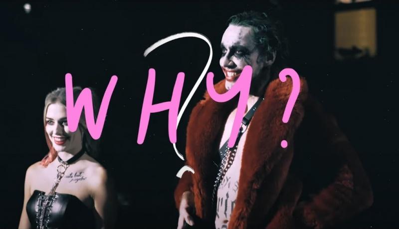 """Harley Quinn i Joker w teledysku do piosenki pt. """"Love Blind"""""""