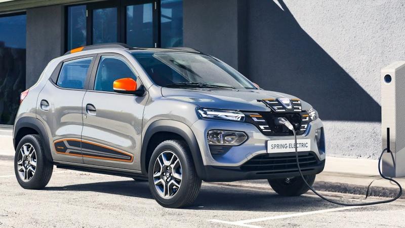 Dacia Spring (fot. youtube.com/screenshot)