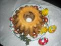 Babka świąteczna - ciasto;babka;słodkość;święta
