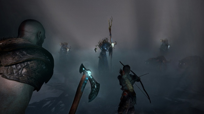 """Screen z gry """"God of War"""" (źródło: materiały prasowe)"""