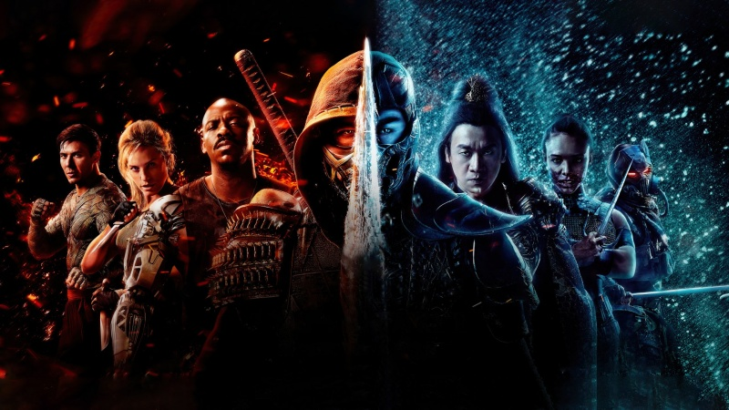 "Poster do filmu ""Mortal Kombat"""