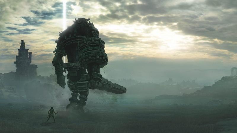 """Screen art z gry """"Shadow of the Colossus"""" (źródło: materiały prasowe)"""