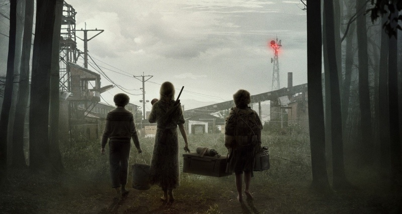 "Poster do filmu ""Ciche miejsce 2"" (źródło: materiały prasowe)"
