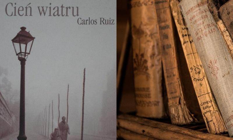 Okładka (źródło: zdjęcie własne); Stare książki (źródło: pixabay.com)