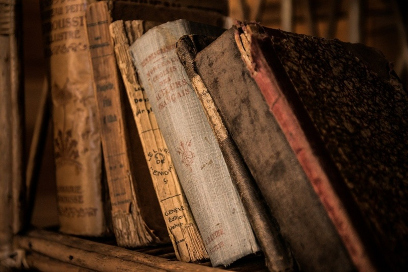Stare książki (źródło: pixabay.com)