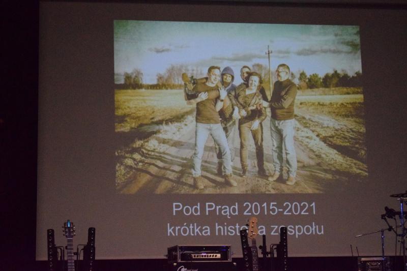 """Koncert zespołu Pod Prąd w Centrum Kultury """"Wahadło"""" (fot. PJ)"""