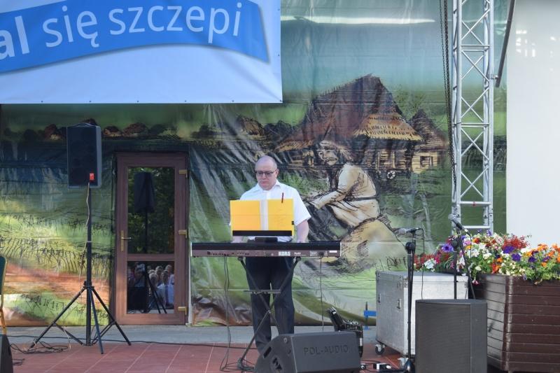 "Koncert ""Kowal się szczepi"" (fot. PJ)"