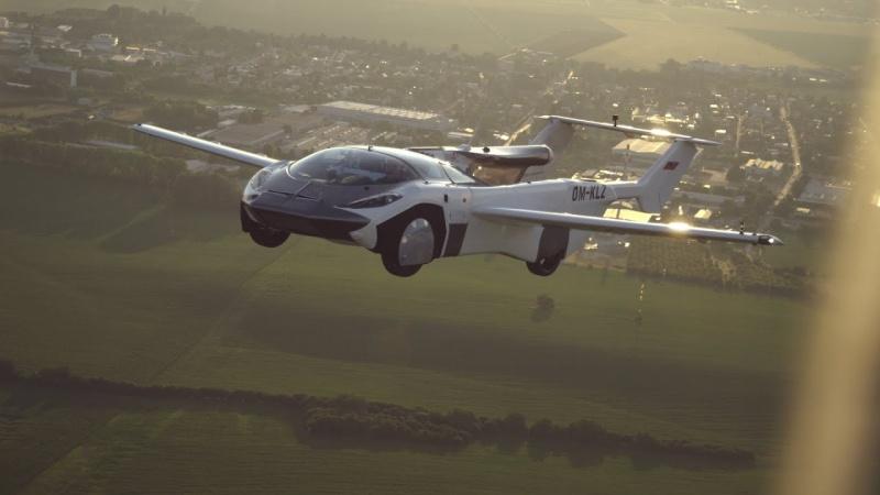 Latające auto (źródło: YouTube /fot. KleinVision)