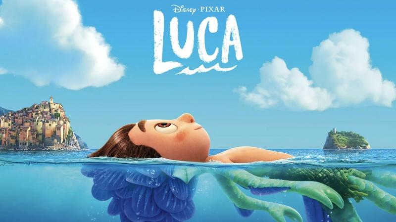 """Poster z filmu """"Luca"""" (źródło: materiały prasowe/Pixar)"""