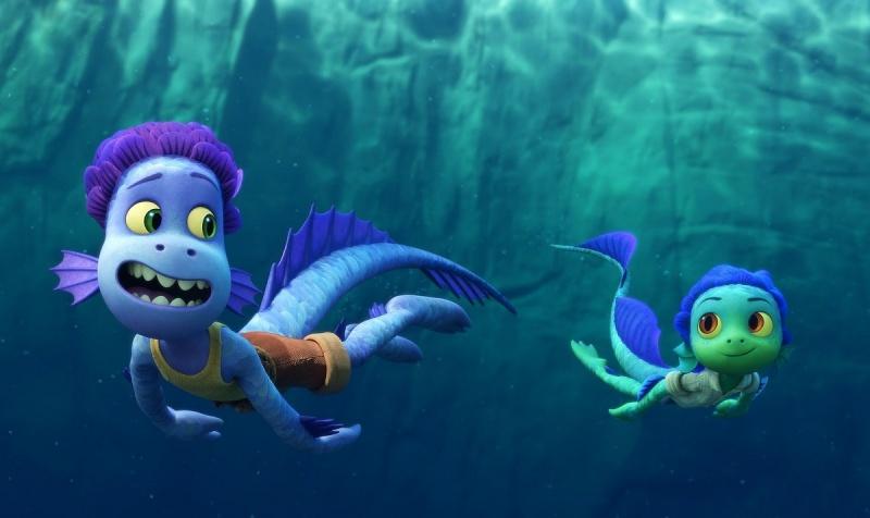 """Kadr z filmu """"Luca"""" (źródło: materiały prasowe/Pixar)"""