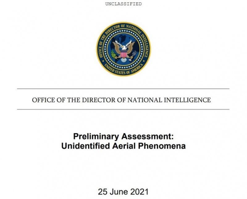 Raport Pentagonu o UFO