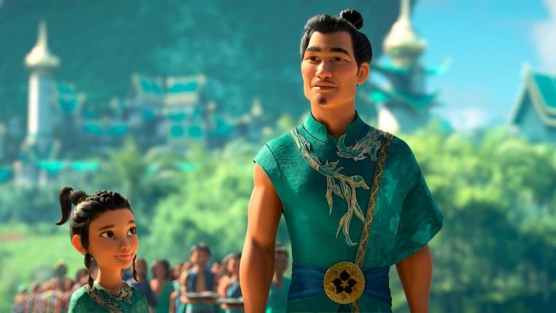 """Kadr z filmu """"Raya i ostatni smok"""" (źródło: materiały prasowe)"""