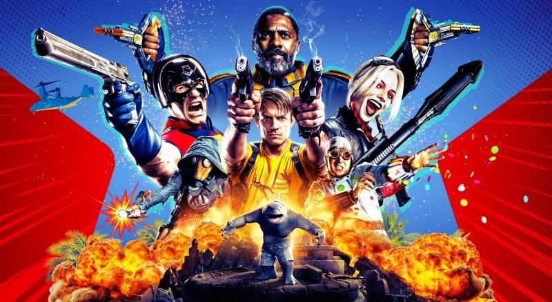 """Plakat do filmu """"Legion Samobójców: The Suicide Squad"""" (materiały prasowe)"""