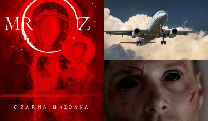 """Okładka (źródło: czwartastrona.pl); Samolot (źródło: im-a-puzzle.com); Opętany przez demona (źródło: kadr z serialu """"Supernatural"""")"""