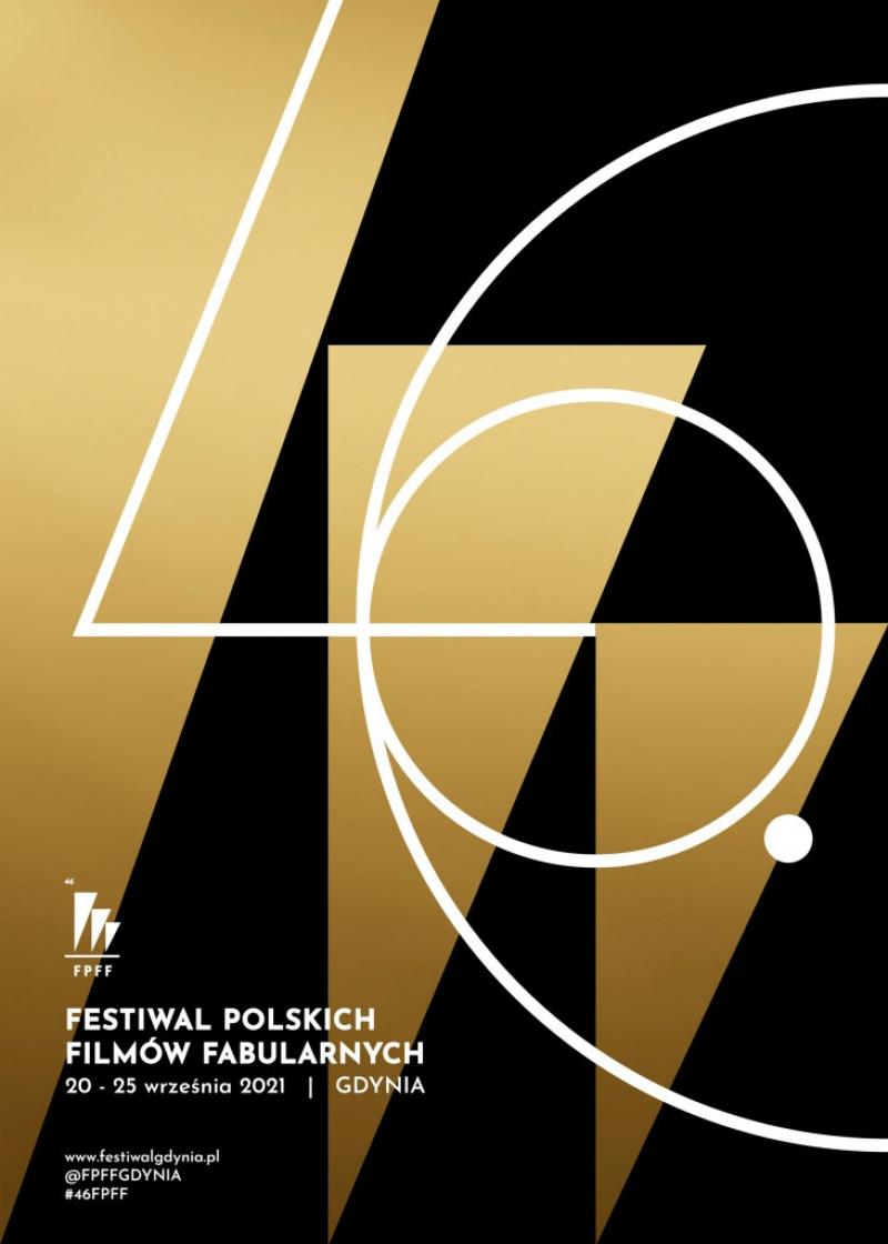 Oficjalny plakat 46. Festiwalu Filmów Fabularnych w Gdyni (materiały prasowe)