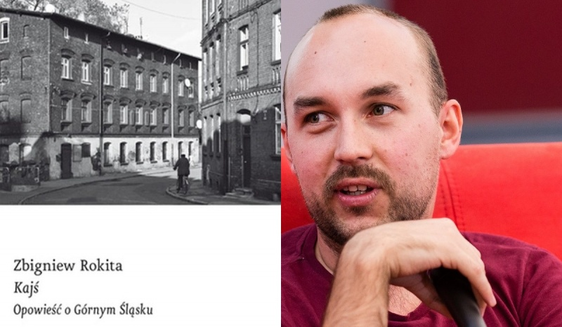 Okładka (źródło: czarne.com.pl); Zbigniew Rokita (źródło: wikimedia.org/fot.Rafał Komorowski)