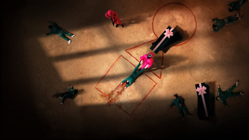 "Plakat serialu ""Squid Game"" (materiały prasowe/Netflix)"