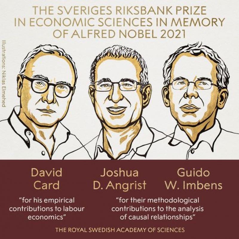 Ilustracja (źródło: Facebook/Nobelprize)