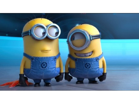"""""""Minionki rozrabiają"""" – Minionki atakują… śmiechem - Minionki;humor;komedia;animacja;recenzja;Minionki rozrabiają"""