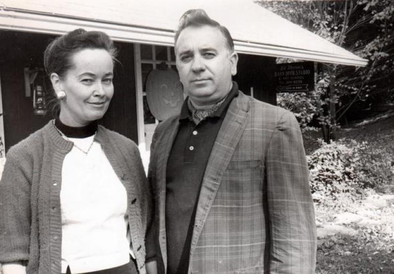 Lorraine i Edward Warren