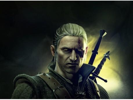 Wiedźmin Geralt (wizja twórców gry, źródło: flickr.com)