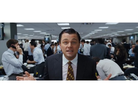 """Kadr z filmu """"Wilk z Wall Street"""" (źródło: youtube.com)"""