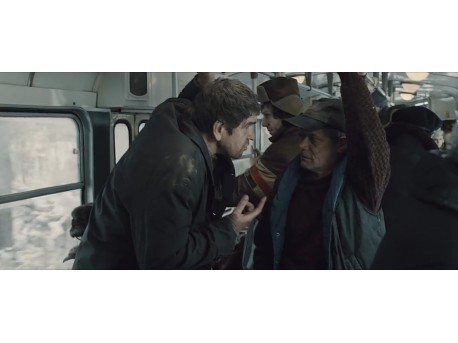 "Kadr z filmu ""Pod Mocnym Aniołem"" (źródło: youtube.com)"