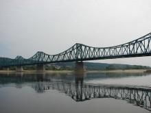Most stalowy we Włocławku