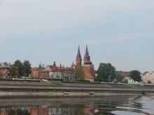 Bulwary i Katedra we Włocławku