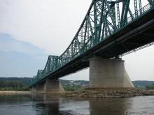 Stary most we Włocławku na Wiśle