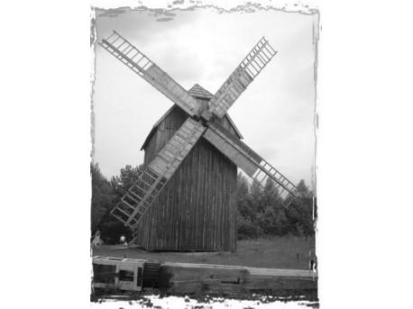 """Stary wiatrak - """"koźlik"""""""