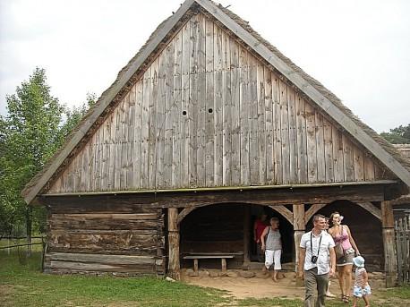 Najstarsza chałupa we wsi, rok 1760