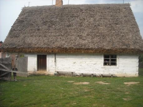 Stara chałupa z końca XVIII wieku