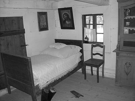 Izba w najstarszej chałupie