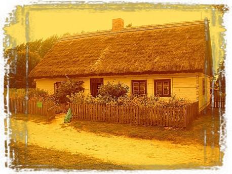 Jedna z wiejskich chat