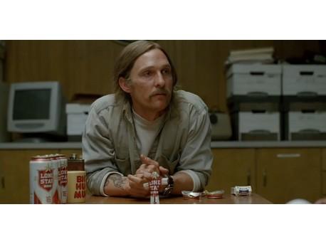 """Matthew McConaughey (źródło: youtube.com, kadr z serialu """"Detektyw"""")"""
