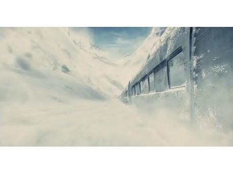 """Kadr z filmu """"Snowpiercer: Arka przyszłości"""" (źródło: youtube.com)"""