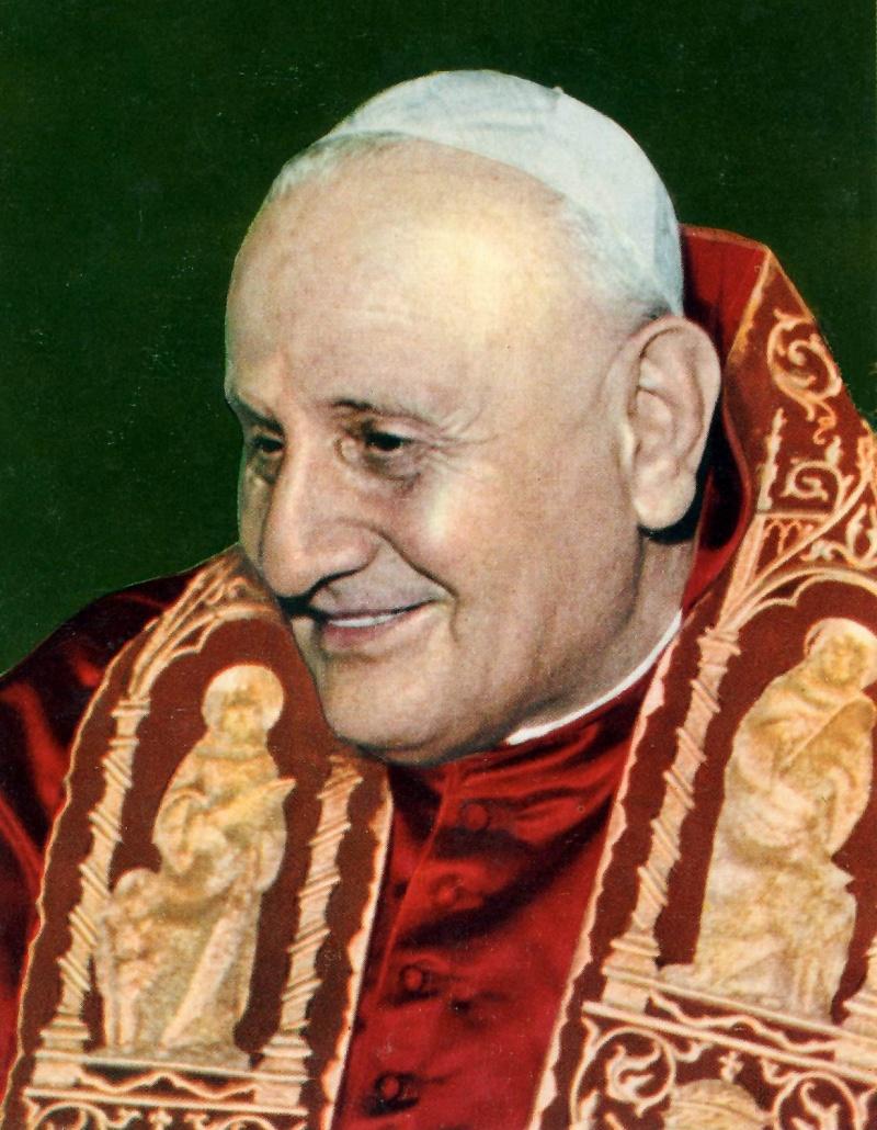 Jan XXIII  - papież z Włoch, 1958-1963 (źródło: wikimedia.org)