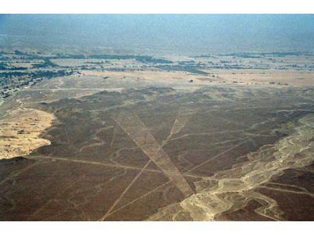 jeden z tajemniczych rysunków na płaskowyżu Nazca  źródło: flickr.com