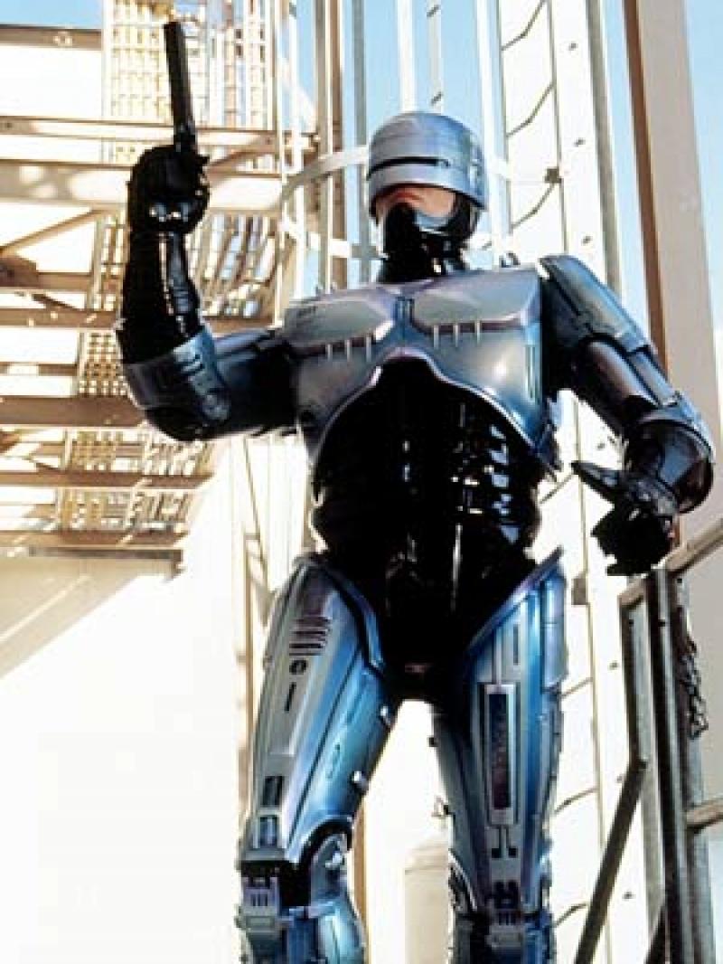 Robocop (źródło: www.kurzweilai.net)