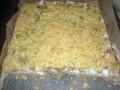 Ciasto z rabarbarem i budyniową pianką - rabarbar;roślina;ciasto;deser;kwaskowy;słodki;przepis;pieczenie