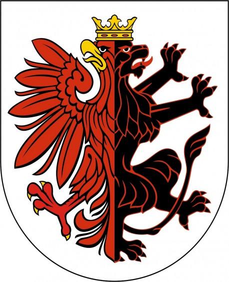 Herb województwa kujawsko-pomorskiego (źródło: wikimedia.org)