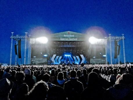 Opener Festival jeszcze z nazwą Heineken (fot. Michał Jaskólski) https://www.flickr.com/photos/alex-pl/