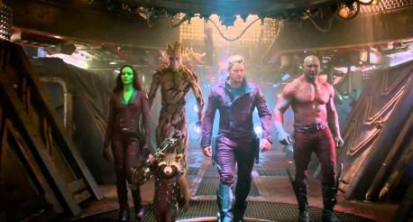 """Kadr z filmu """"Strażnicy Galaktyki"""" (źródło: youtube.com)"""