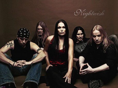źródło: flickr.com  z dawną wokalistką Tarją Turunen