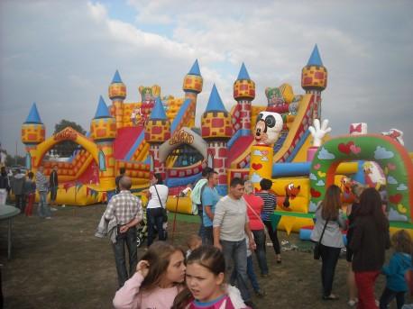 Zabawy dla dzieci (fot. Przemysław Jankowski)