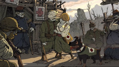 "Screen z gry ""Valiant Hearts: The Great War"" (źródło: youtube.com)"